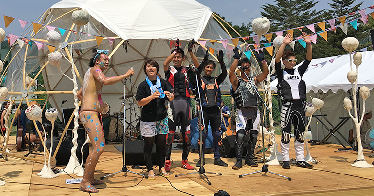 Rainbow child2020 in 八百津町 フリースタイルデモンストレーション 濱中選手、植木選手、福田選手、野口選手